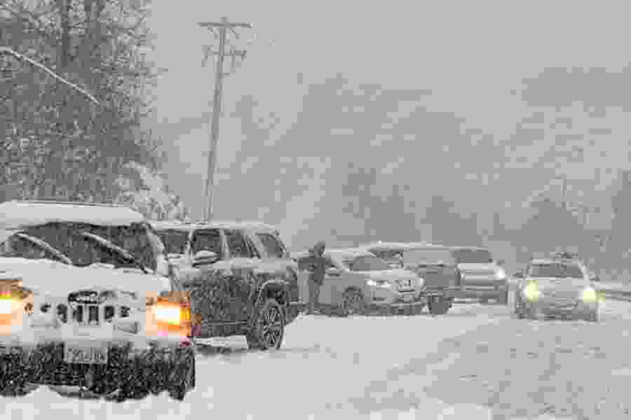 Ski-ready snow turns into a traffic hell in Utah's canyons