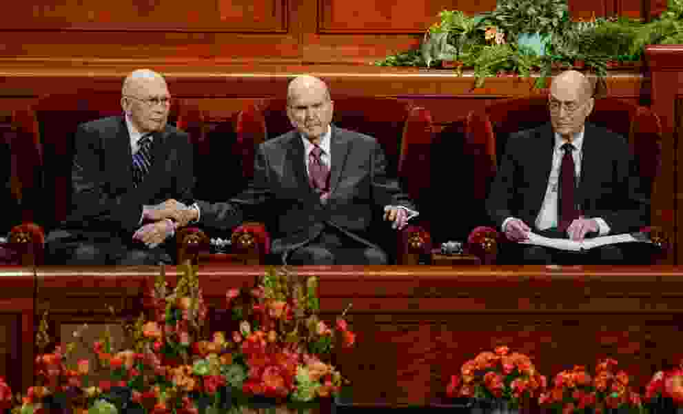 Tune out the TV, tune in to your loved ones, Nelson urges Latter-day Saint men