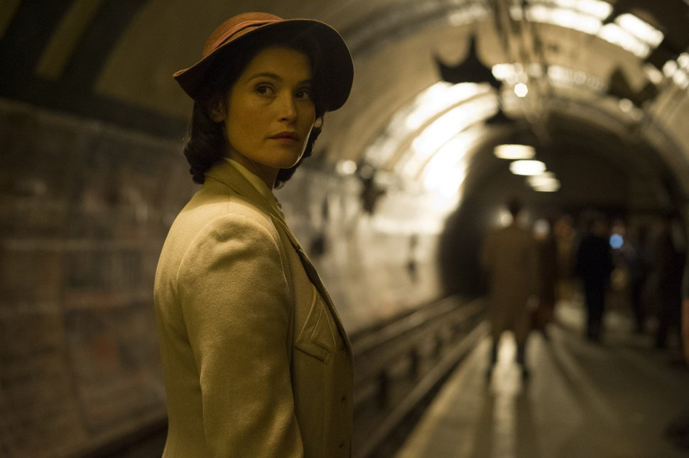 Nicola Dove | STX Films Gemma Arterton plays Catrin Cole, a fledgling screenwriter assigned to write uplifting propaganda films for the British war effort during World War II, in the romantic comedy-drama