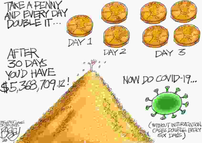 Bagley Cartoon: Penny For Your Thoughts