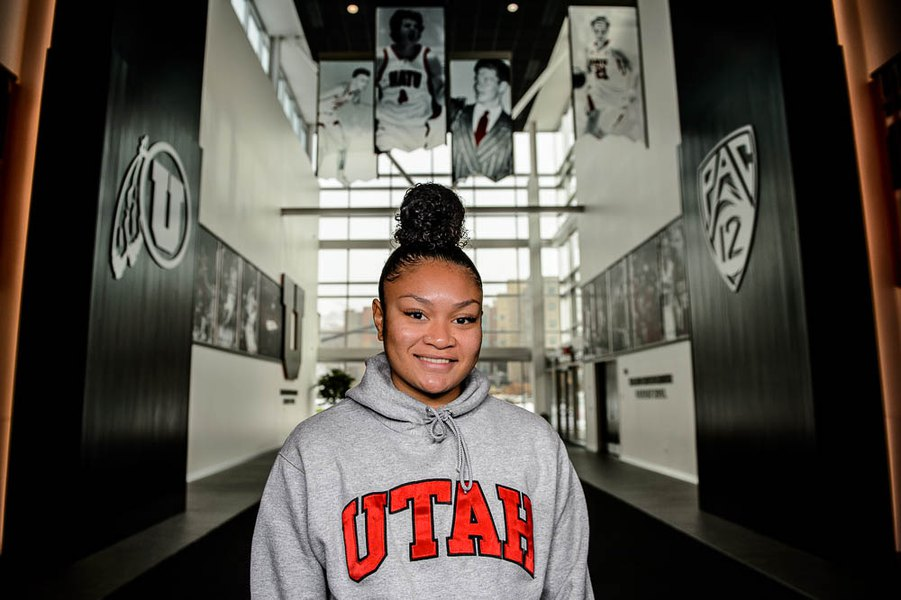 Ute shooting star Sarah Porter is driven to make an impact, on and off the court