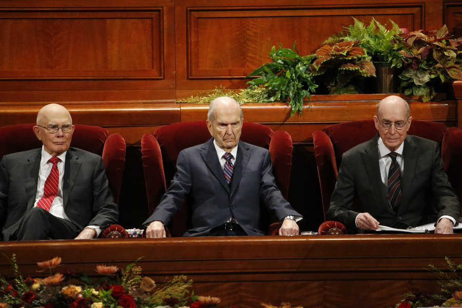 The Latest From Lds General Conference Beware Of Satan S Disguises Apostle Counsels The Salt Lake Tribune