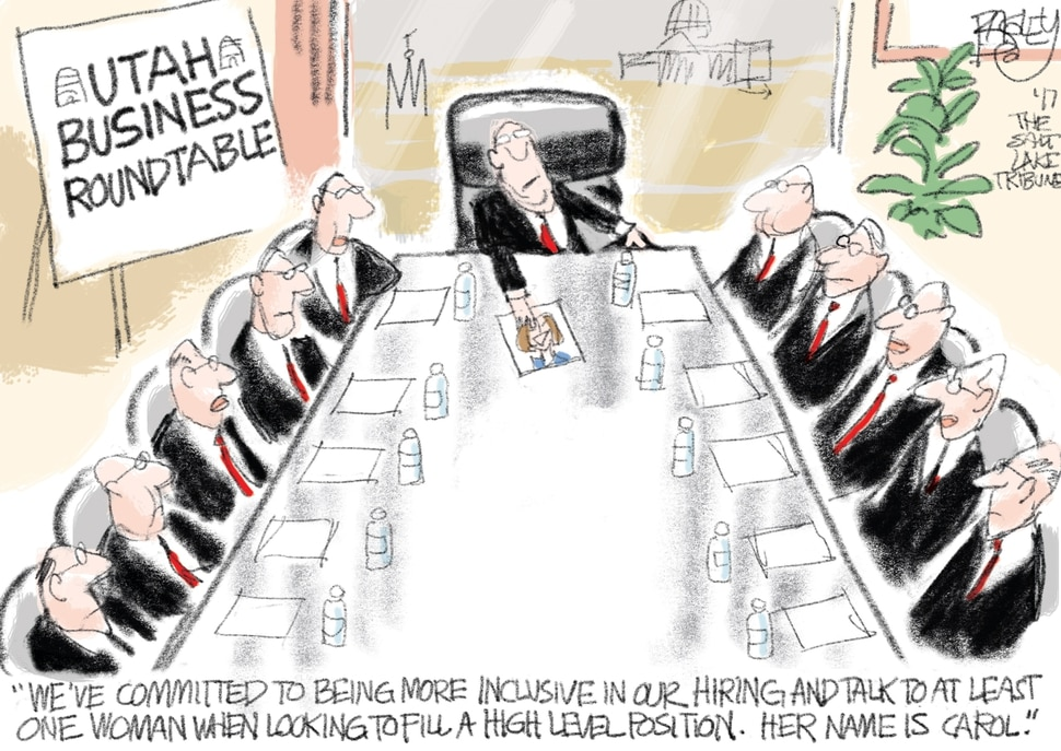 This Pat Bagley cartoon appears in The Salt Lake Tribune on Wednesday, Dec. 20, 2017.