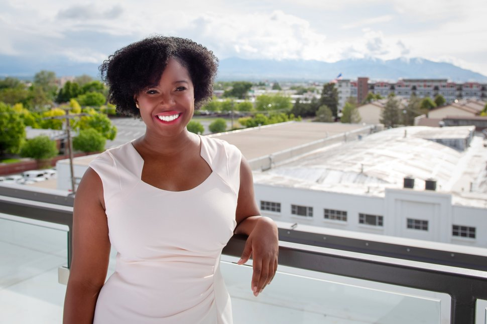 (Photo courtesy of Natalie Pinkney) Natalie Pinkney, 26, was elected this month to serve on the South Salt Lake City Council. In January, the council will have a female majority for the first time in its history.