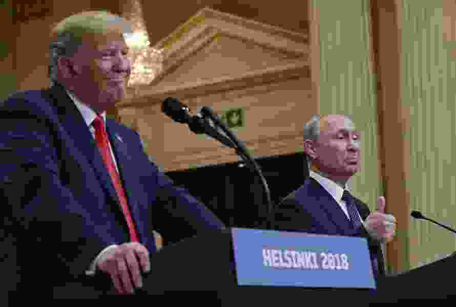 Letter: Trump takes a knee before Putin. Now who's disrespecting the flag?