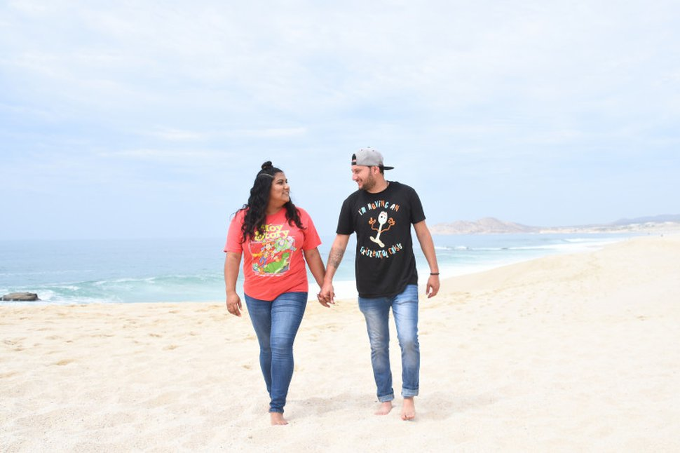 (Photo courtesy of the Lemus family) Cynthia and Moises Lemus on vacation. Cynthia Lemus became the first Utahn to receive an experimental treatment for COVID-19, a transfusion of plasma from someone who had recovered from the disease.