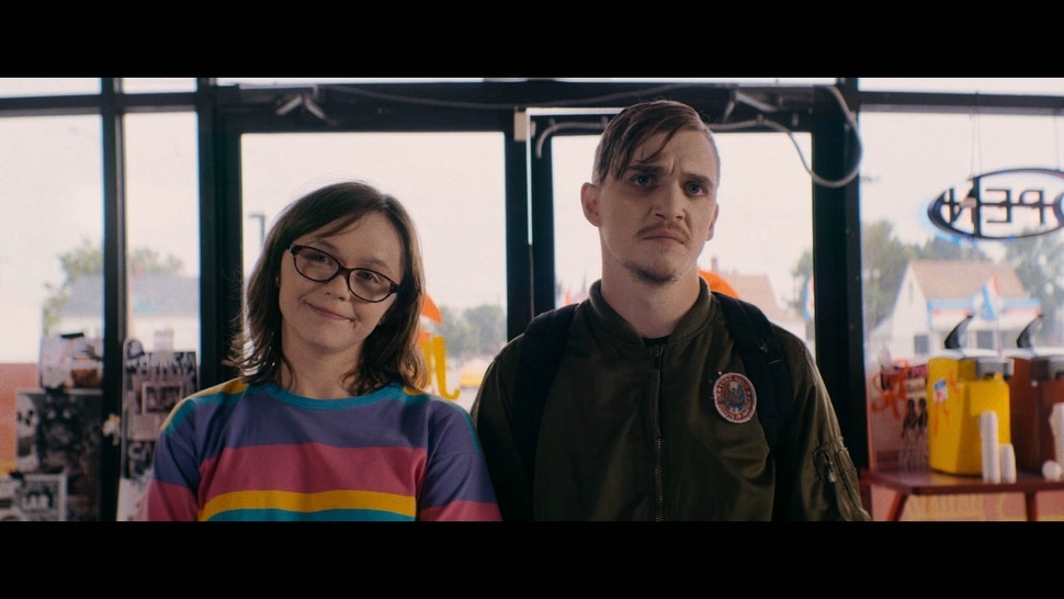 (Philippe Bernier | courtesy of Sundance Institute) Emily Skeggs, left, and Kyle Gallner star in Dinner in America, directed by Adam Rehmeier, an official selection of the U.S. Dramatic Competition at the 2020 Sundance Film Festival.