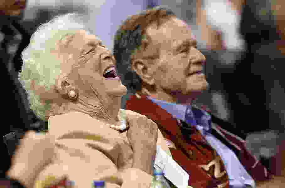 Commentary: Barbara Bush's old-fashioned religion