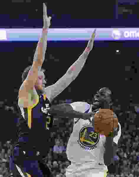 Golden State Warriors blow away weary Utah Jazz after halftime for 126-101 victory