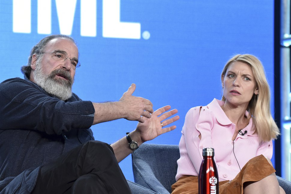 (Richard Shotwell | Invision/AP file photo) Mandy Patinkin, left, and Claire Danes participate in the
