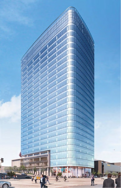 LDS Church developer plans to build a 28-story office tower
