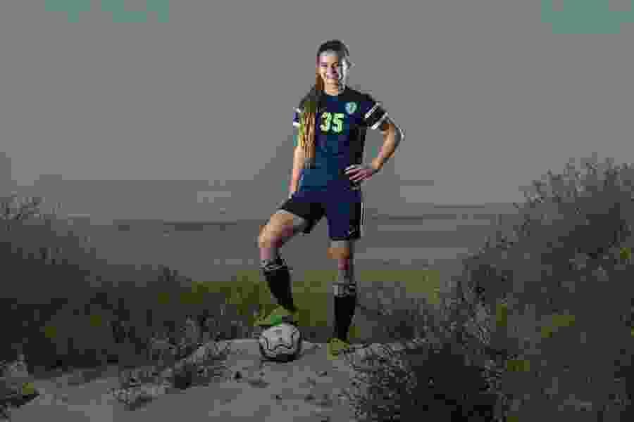 Syracuse High's Caroline Stringfellow named Gatorade Utah Girls Soccer Player of the Year