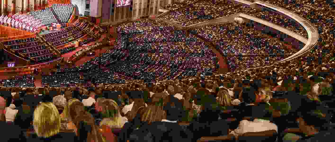 LDS General Conference data reveals who talks the most and what they talk about — grace, works, porn, drugs and more