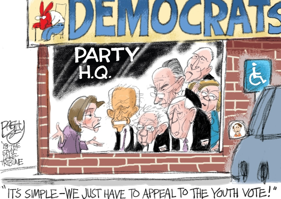 (Pat Bagley | The Salt Lake Tribune) This Pat Bagley cartoon appears in the March 11, 2018, Salt Lake Tribune.