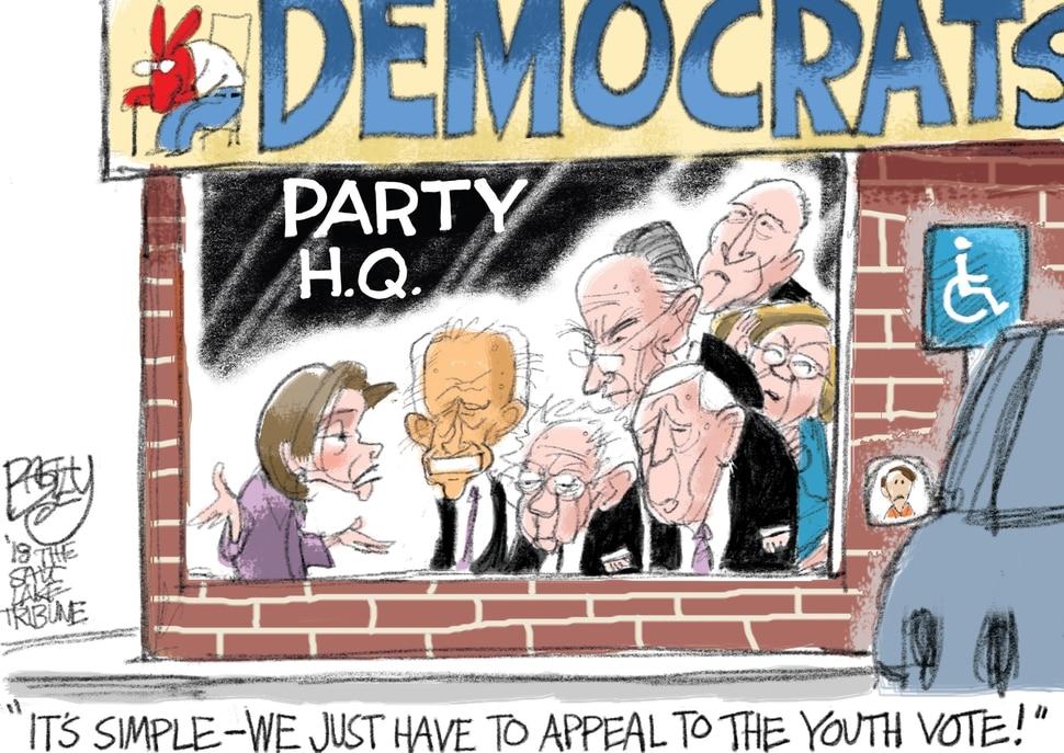 (Pat Bagley | The Salt Lake Tribune) This Pat Bagley cartoon appears in the March 11, 2018, Salt Lake Tribune.