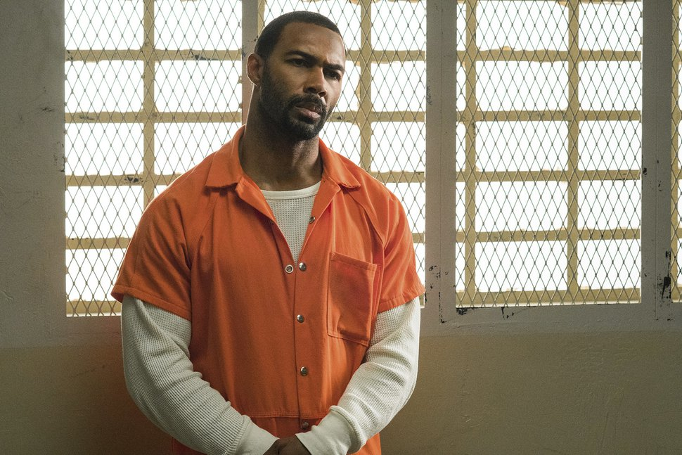This image released by Starz shows Omari Hardwick in a scene from the original series,