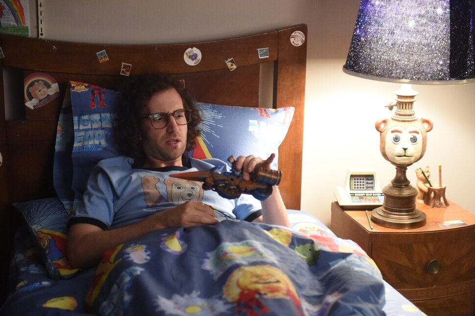 This image released by Sony Pictures Classics shows Kyle Mooney in a scene from Brigsby Bear. (Sony Pictures Classics via AP)