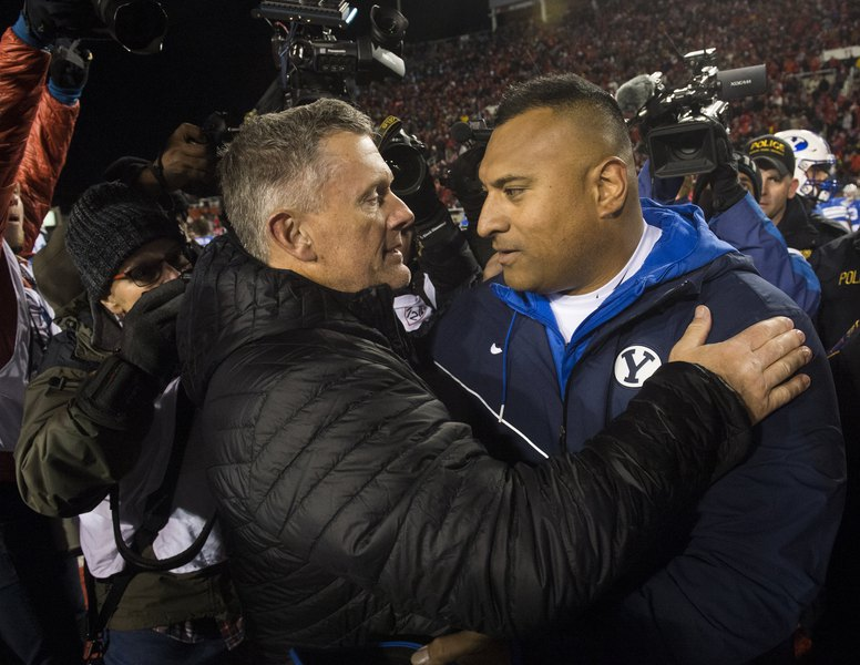 Gordon Monson: Let us turn to the Good Book to put the Utah-BYU game in its proper place