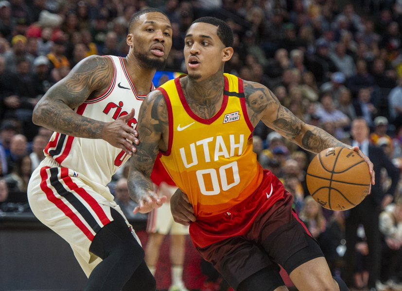 Gordon Monson: Where would the Jazz be without Jordan Clarkson? Not where they are.