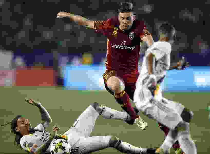Real Salt Lake: Called upon after an ejection, Horst's last ditch clearance saved the day against Galaxy