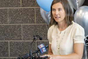 (Rick Egan   The Salt Lake Tribune)   Salt Lake City Mayor Erin Mendenhall, shown June 24, 2021, joined with the City Council in declaring racism a public health crisis.