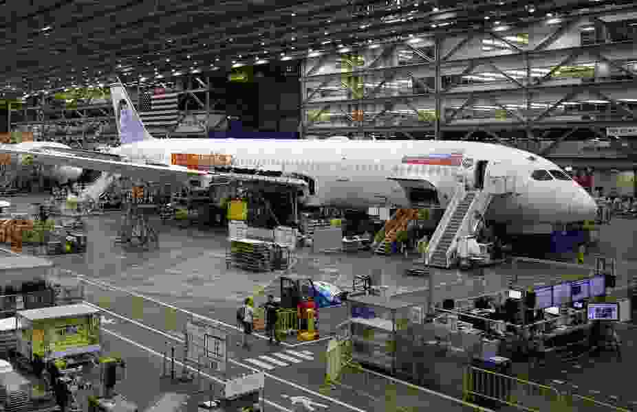 Boeing 787 production concerns tied to Salt Lake City facility