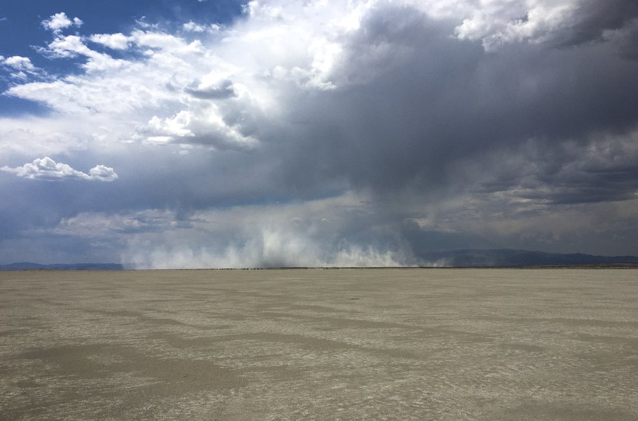 90% of northern Utah's dust comes from shrinking lakes, BYU study finds