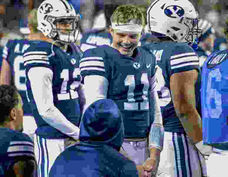 Led by QB Zach Wilson, BYU's promising freshmen vow to stick together for years to come