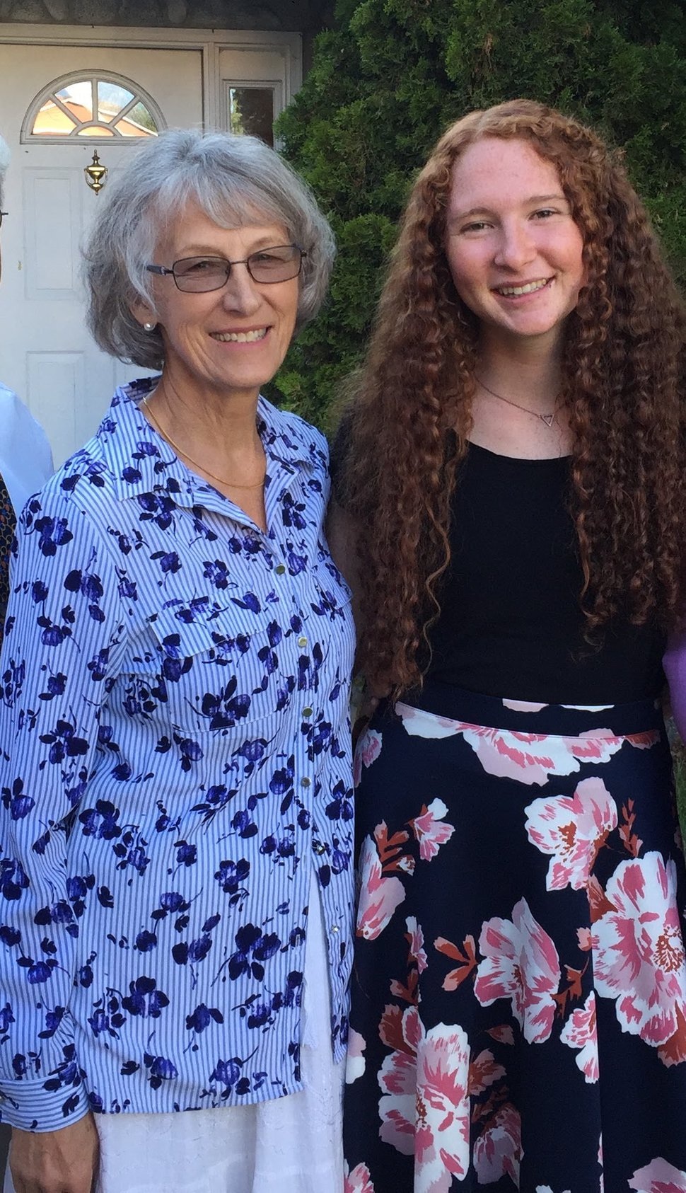 (Photo courtesy of Robbyn Scribner) Maggie Scribner, right, with her grandmother, Cecile Scribner, who also served a mission with The Church of Jesus Christ of Latter-day Saints in the 1960s in Australia.
