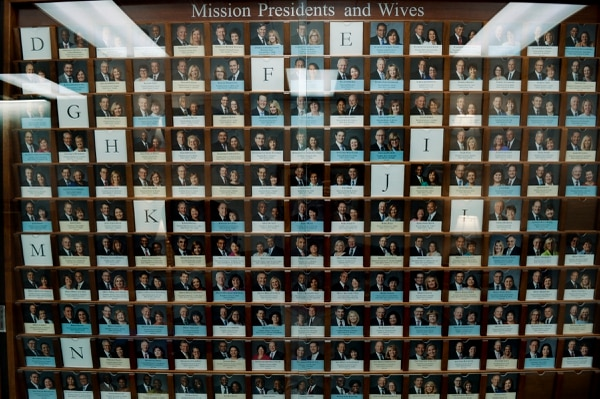 (Leah Hogsten | The Salt Lake Tribune) The directory of The Church of Jesus Christ of Latter-day Saints mission presidents and their wives at the Church Office Building on August 24, 2018.
