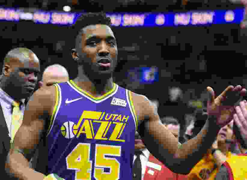 Utah's April Fools' Day pranks have the Jazz's Donovan Mitchell enlisting in the National Guard and elephants playing with Utah Symphony