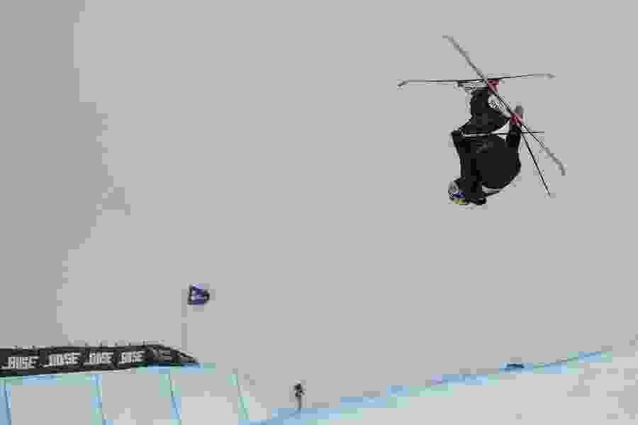 American skier Aaron Blunck repeats as FIS world champ in ski halfpipe