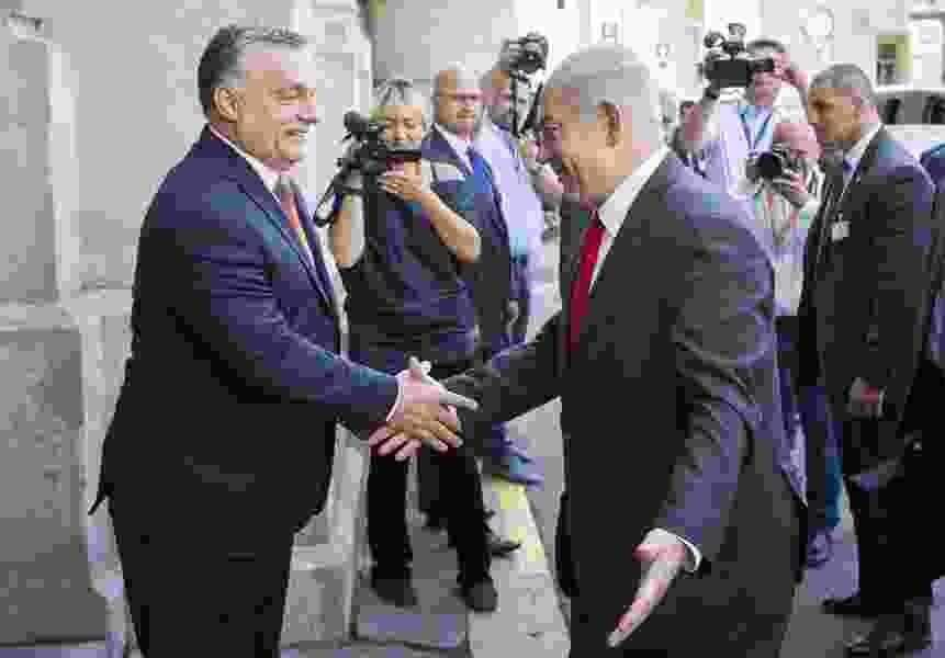 Ishaan Tharoor: Israel's Netanyahu and Hungary's Orban meet in summit of illiberal nationalists