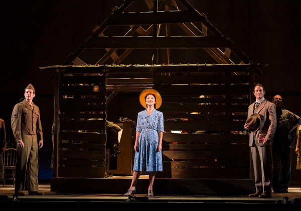 (Courtesy photo by Craig Schwartz) A.J. Shively, Carmen Cusack and Patrick Cummings in Steve Martin and Edie Brickell''s