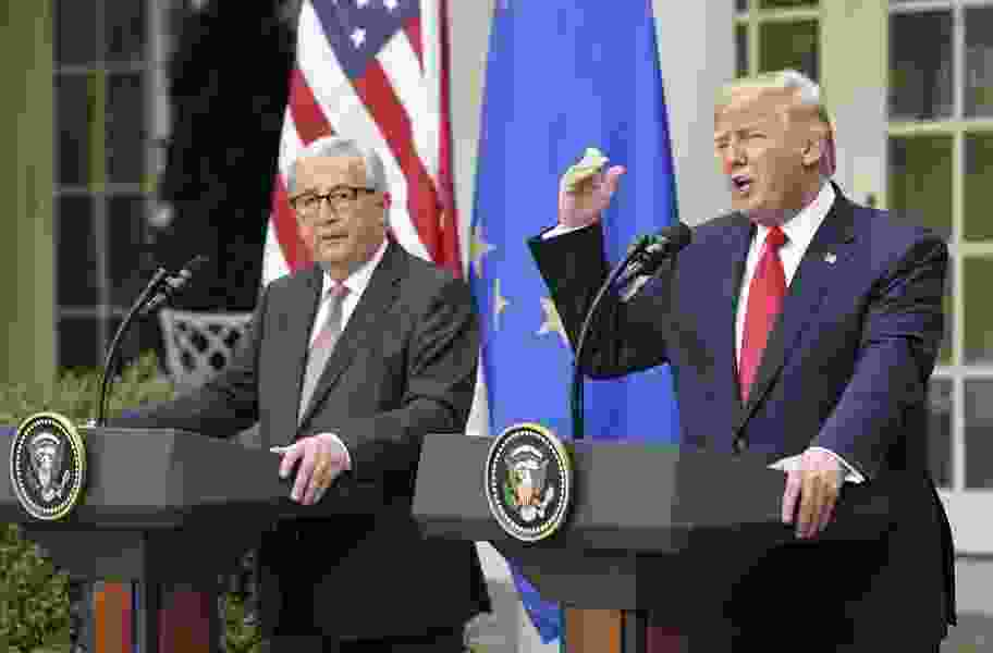 Ishaan Tharoor: Which Europe does Trump want?