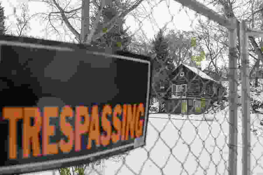 Salt Lake City warns trespassers to stay out of 'Hobbitville'