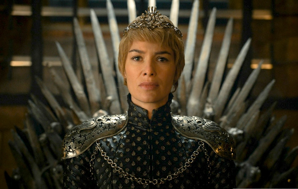 This image released by HBO shows Lena Headey as Cersei Lannister in a scene from Game of Thrones. The final season premiers on Sunday. (HBO via AP)