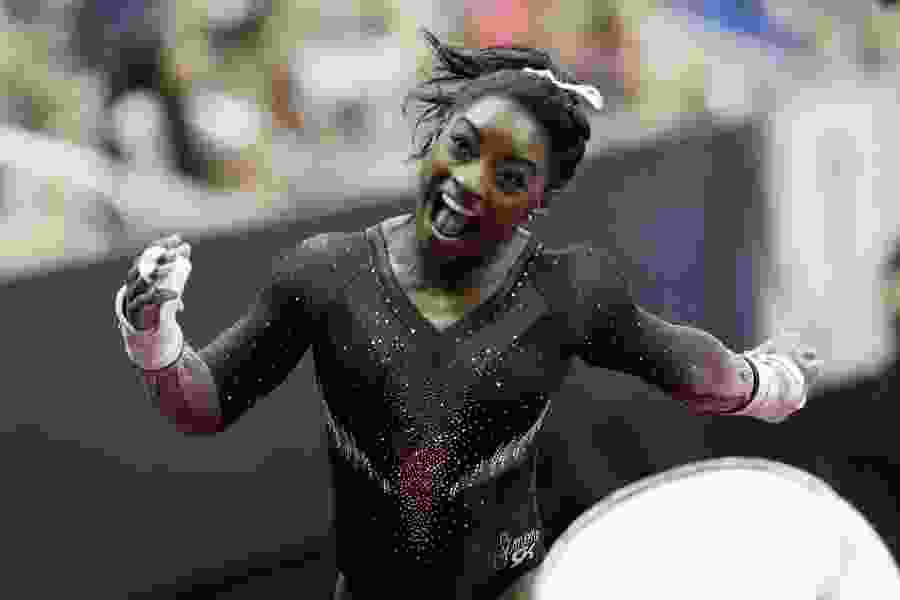 Simone Biles soars to 6th U.S. gymnastics title; Utes' MyKayla Skinner 8th in all-around, makes national team