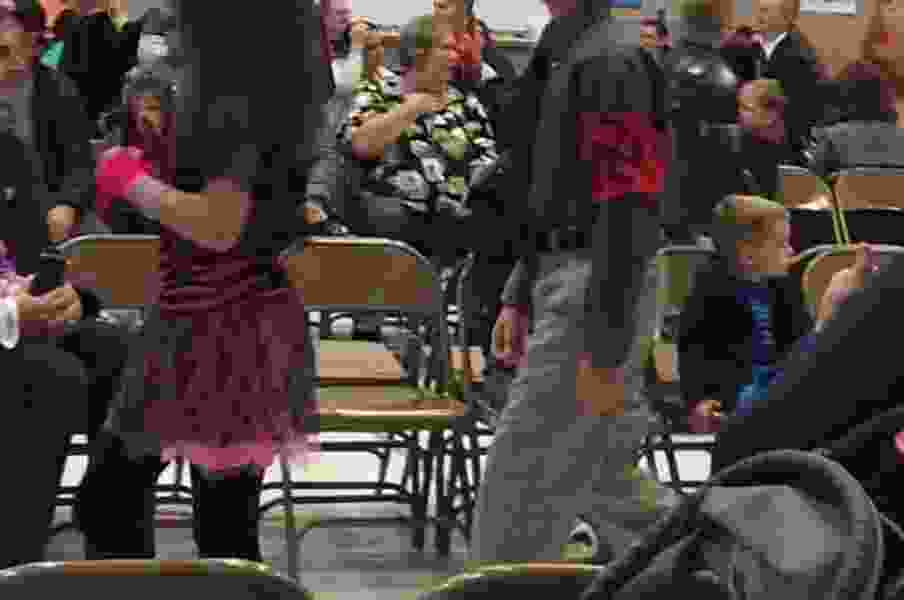 Elementary school teacher and principal reinstated after investigation into student wearing Nazi costume
