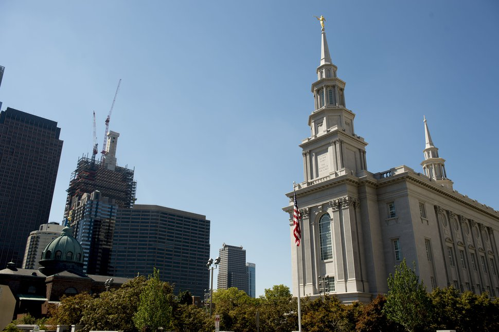 (Jeremy Harmon | Tribune file photo) The Philadelphia Temple in 2016.