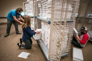 (Trent Nelson   Tribune file photo) In this Nov. 4, 2020 file photo, ballots are sorted for scanning at the Salt Lake County offices in Salt Lake City. Salt Lake County Clerk Sherrie Swensen said Salt Lake County will accommodate a new type of election, ranked choice voting.
