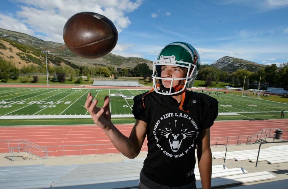Prep Football Modest South Summit Qb Kael Atkinson