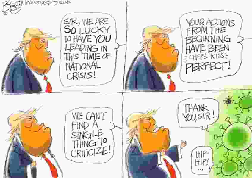 Bagley Cartoon: Pandumbic