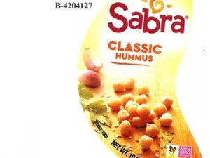 """(Photo courtesy of FDA) Sabra Dipping Co. is recalling 10-ounce tubs of its """"Classic Hummus"""" for possible salmonella contamination."""