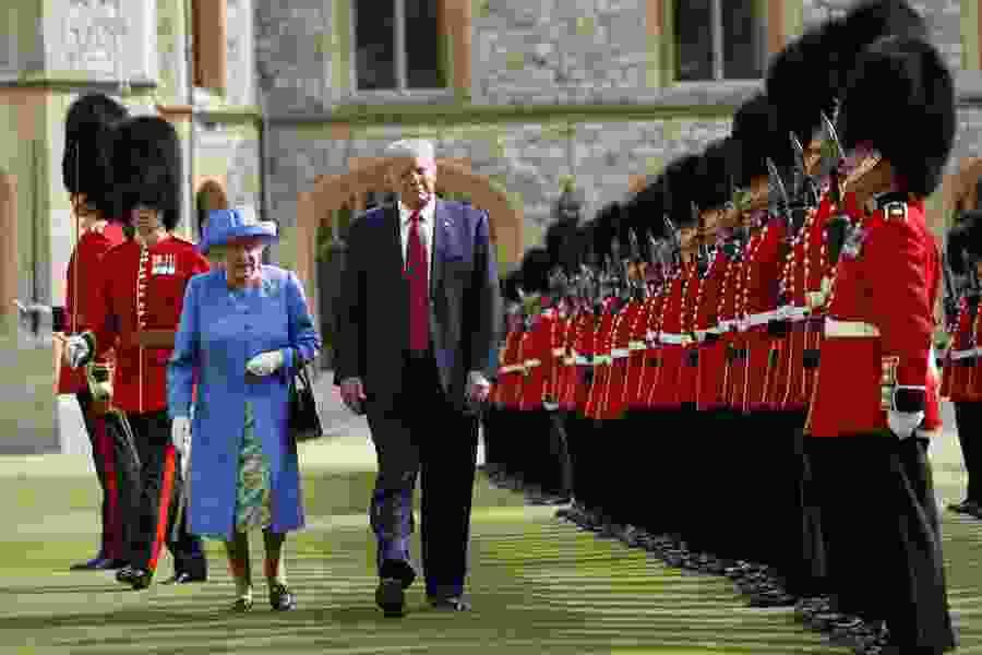 Political Cornflakes: President Trump now claims it was queen who kept him waiting, despite video evidence to the contrary