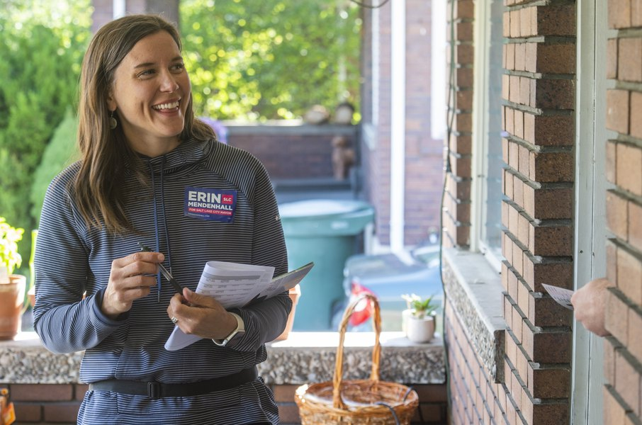 Erin Mendenhall, longtime air quality advocate, says it's time for Salt Lake City's mayor to have 'grassroots' City Hall experience