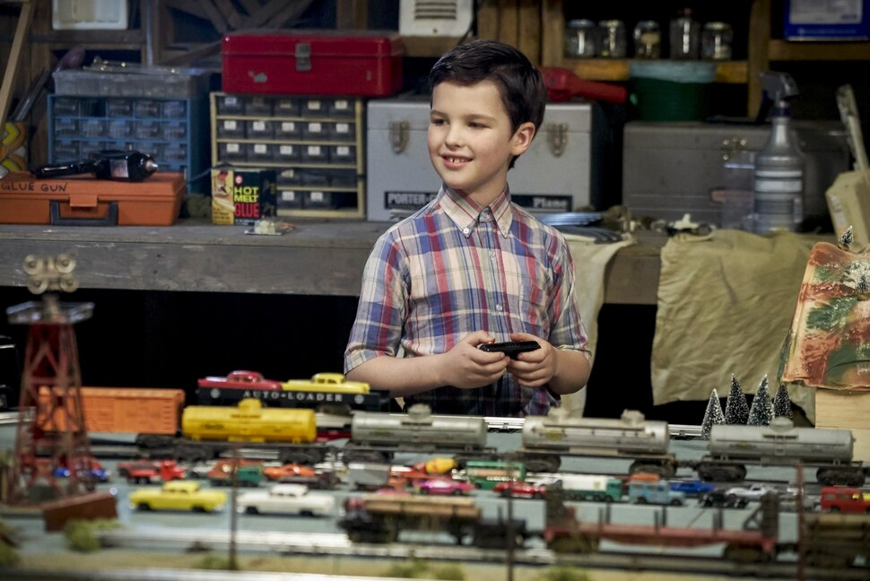"(Photo credit: Sonja Flemming/CBS) Iain Armitage stars as the 9-year-old Sheldon Cooper in ""Young Sheldon."""