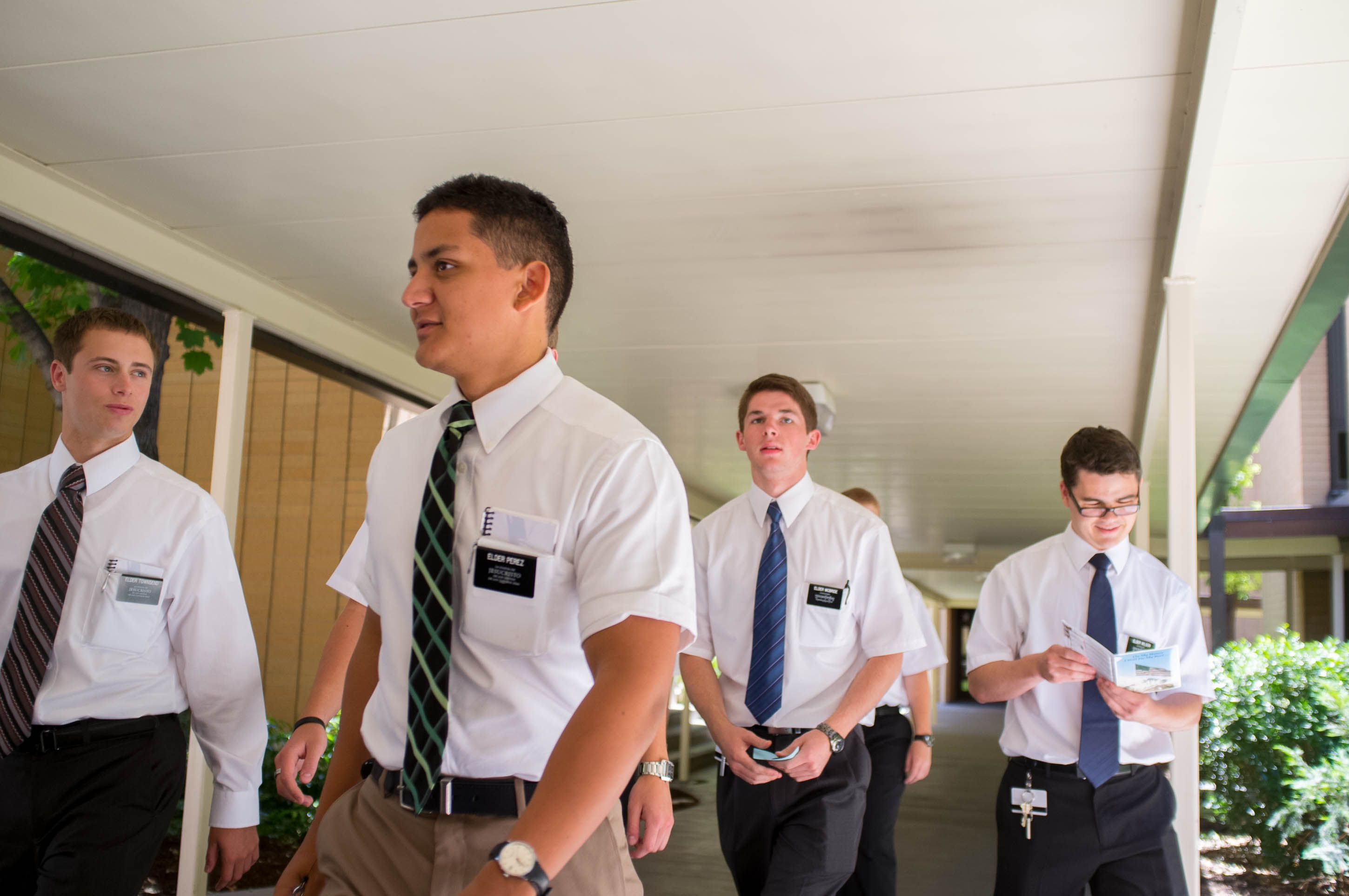 (Trent Nelson | Tribune file photo) Missionaries at the Missionary Training Center of The Church of Jesus Christ of Latter-day Saints in Provo on June 18, 2013.