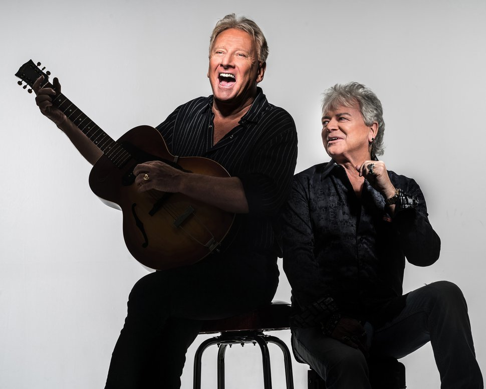 Courtesy photo From left, Air Supply's Graham Russell and Russell Hitchcock