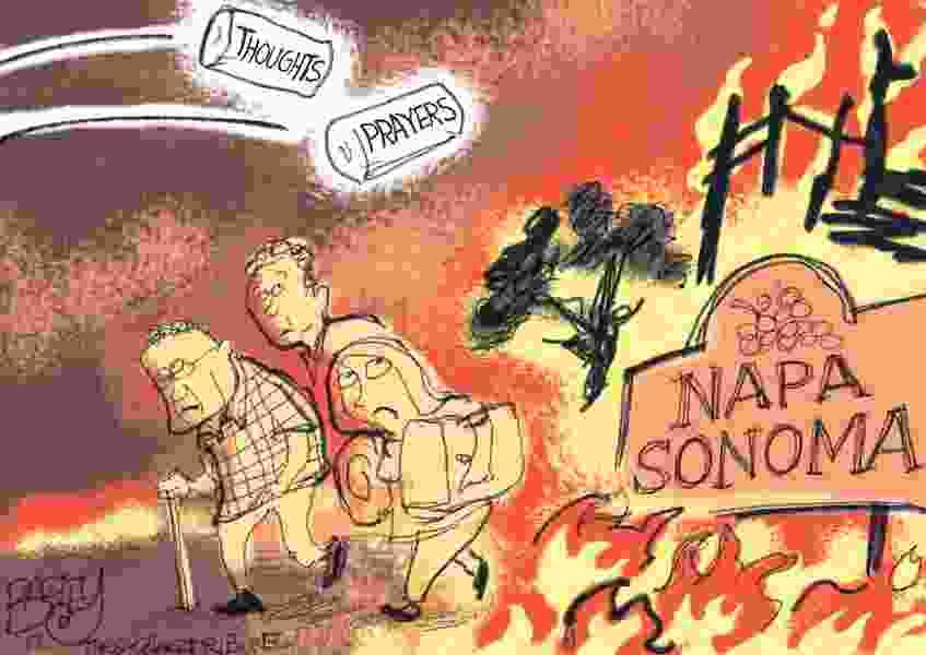 Bagley Cartoon: Inferno